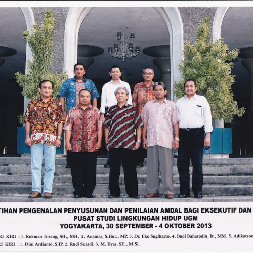 Pelatihan bagi Eksekutif dan Legislatif pusat studi lingkungan hidup UGM