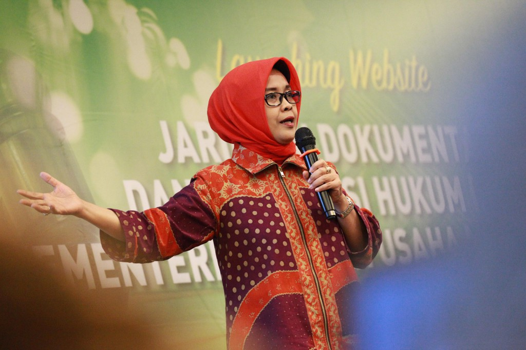 Kepala BPHN Dinobatkan Sebagai Srikandi Hukum Versi Hukumonline.com