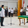 Pelantikan Sekretaris Daerah Definitif Kabupaten Kutai Kartanegara