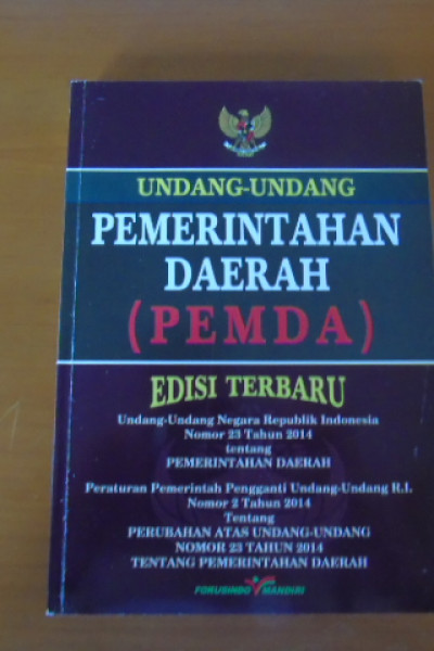 Undang-Undang Pemerintah Daerah