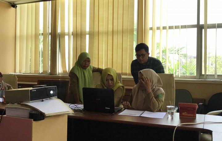 Pelatihan Pengelola Website JDIH Bagian Hukum
