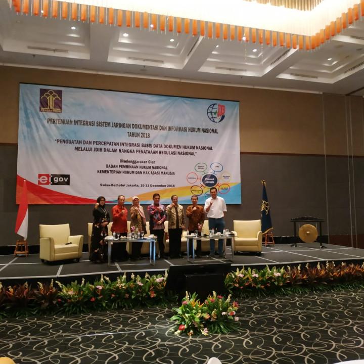 Rakor JDIH Bagian Hukum Se-Indonesia Tahun 2018
