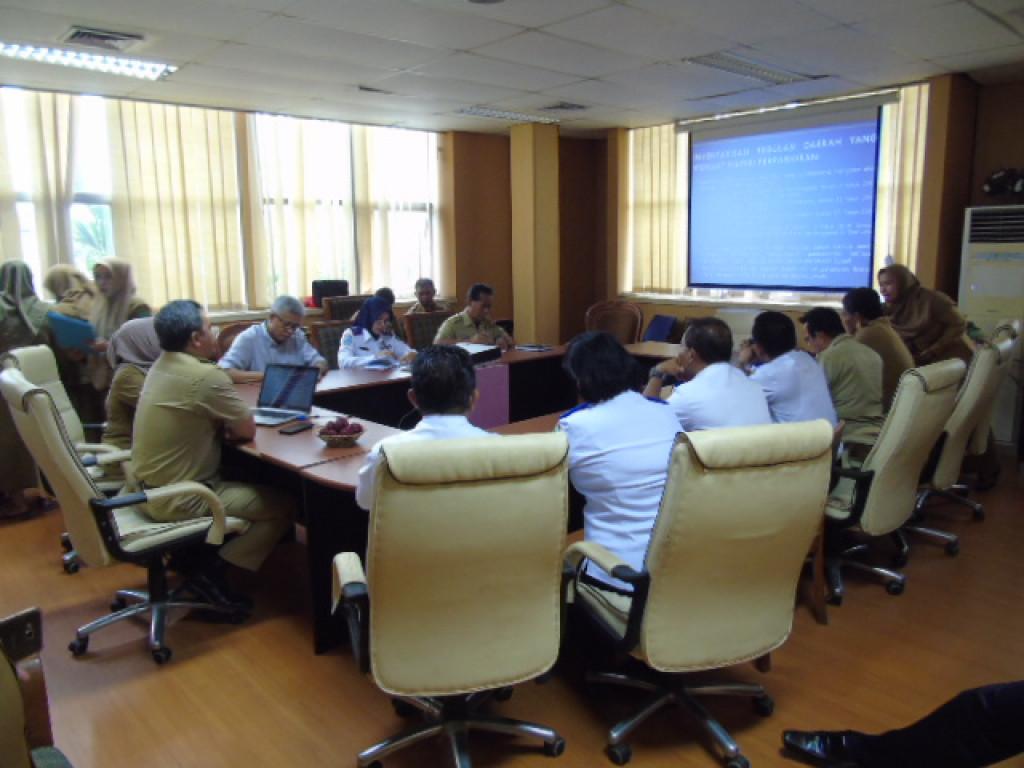 Rapat Koordinasi Bagian Hukum dan Dinas Perhubungan Kabupaten Kutai Kartanegara